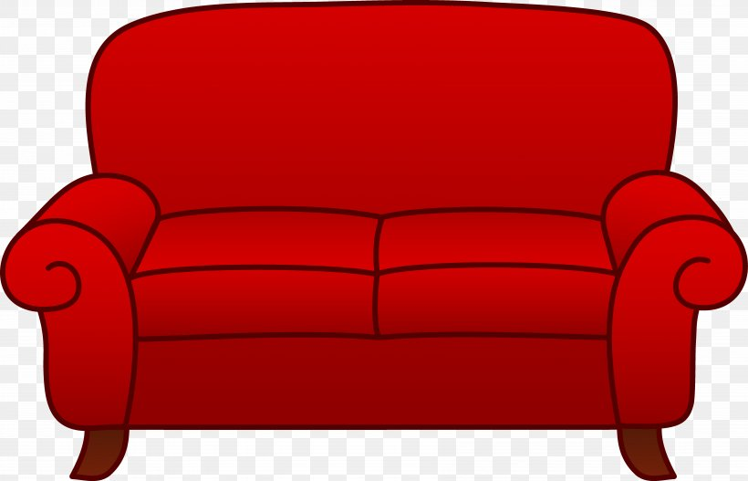 Couch Chair Living Room Clip Art, PNG, 6947x4471px, Couch.