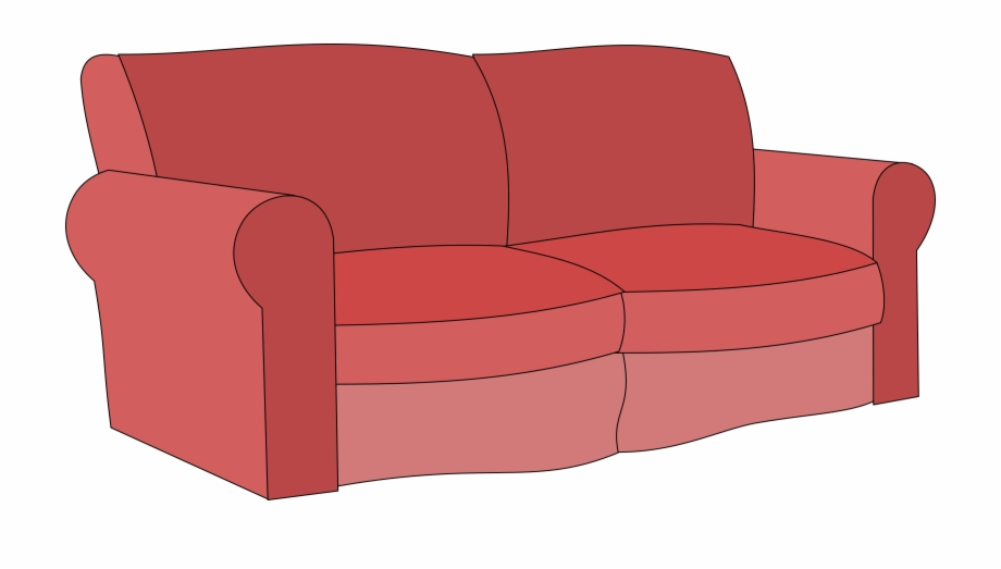 Free Couch Clipart Black And White, Download Free Clip Art.