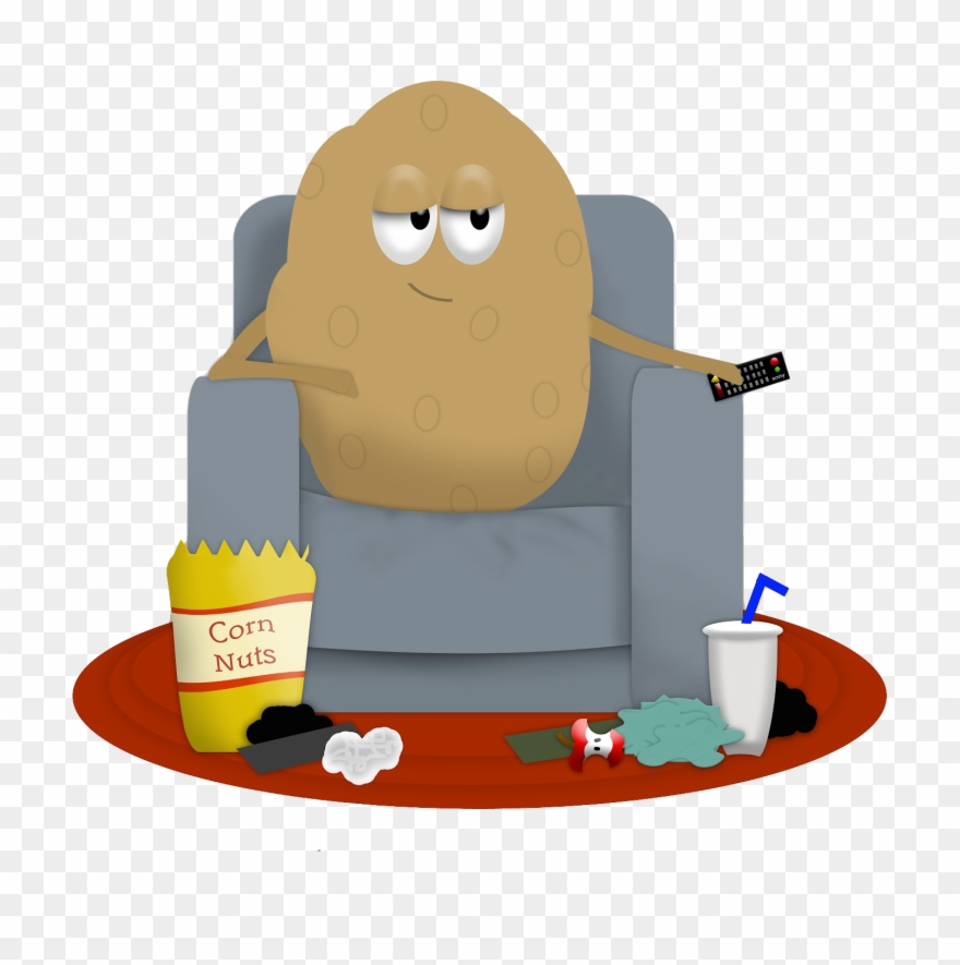 Couch Potato Clipart (#2367286).