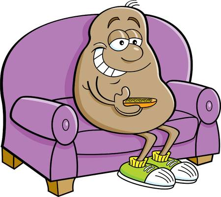 Couch Potato Clipart Free Download Clip Art.
