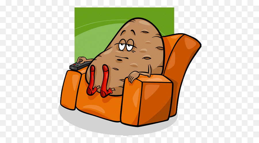 Couch potato clipart 5 » Clipart Station.