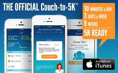 The Couch to 5K ® Running Plan.