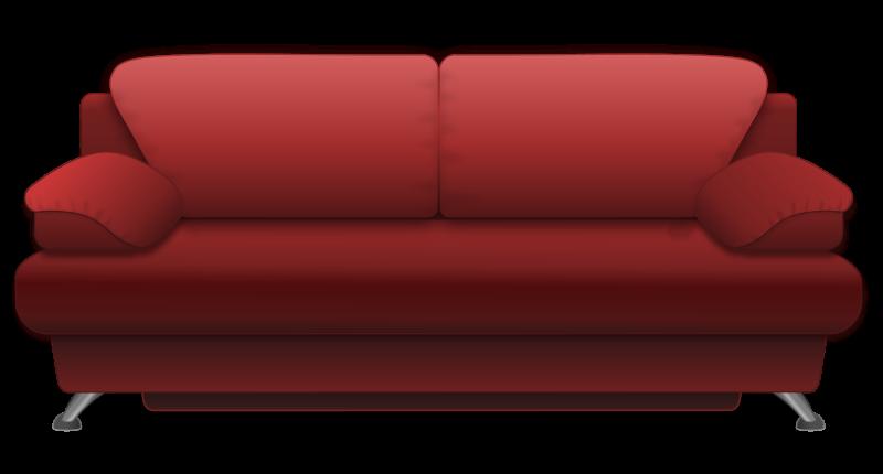 Sofa set clipart.