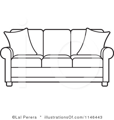 Couch Clipart.