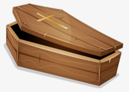 Free Coffin Clip Art with No Background.