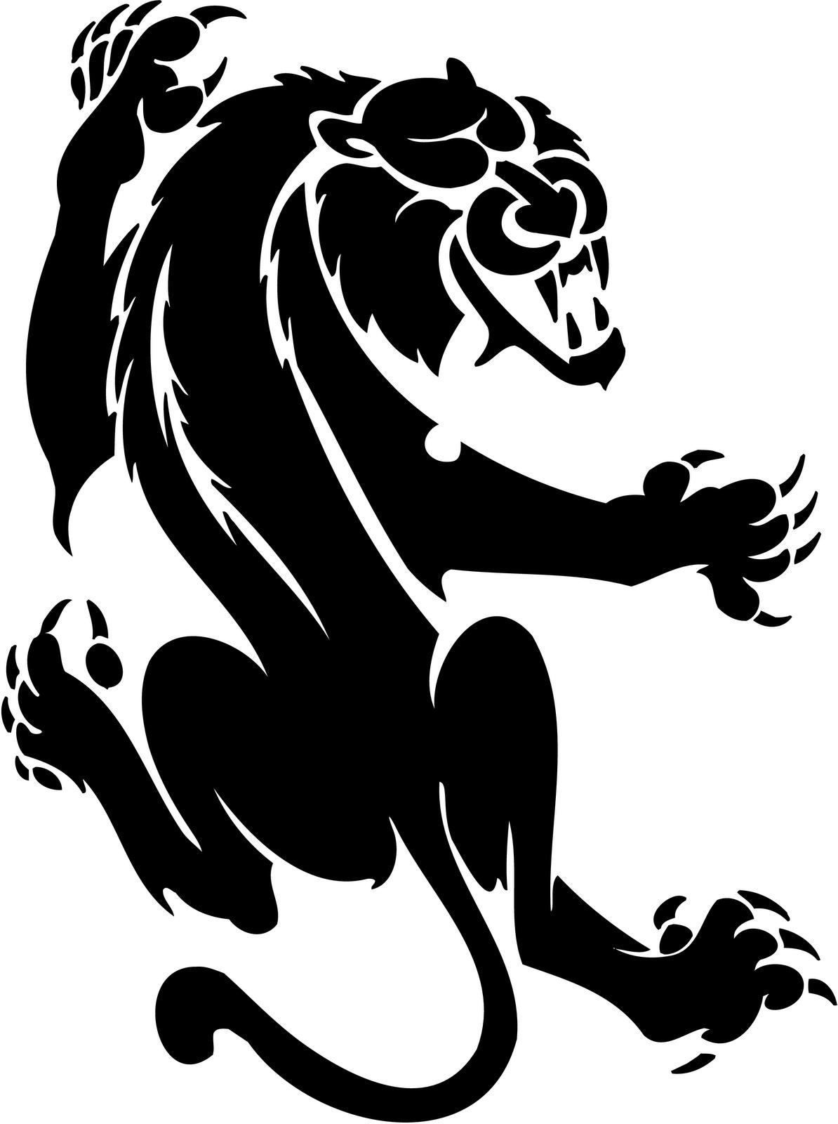 Cougar clip art clipart.