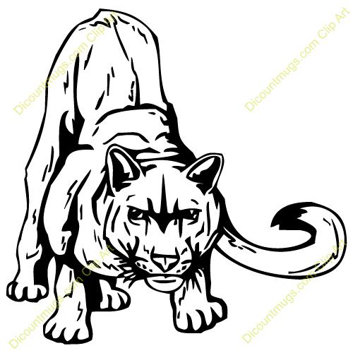 Cougar Clip Art Free.
