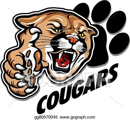 Cougar Mascot Clipart Free Download Clip Art.