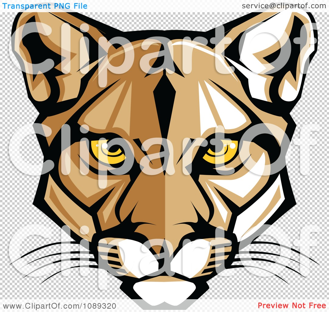 tiger roaring no background only head