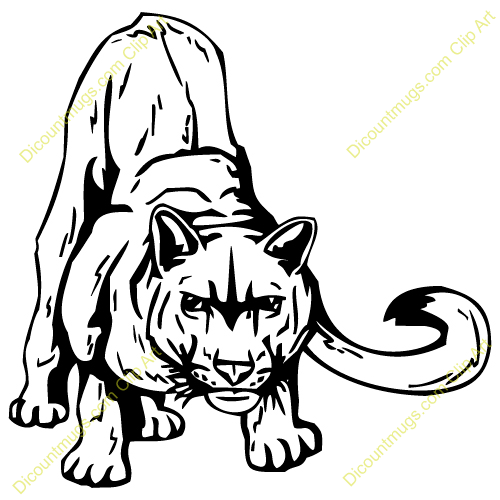 Free cougar clipart 6 » Clipart Station.