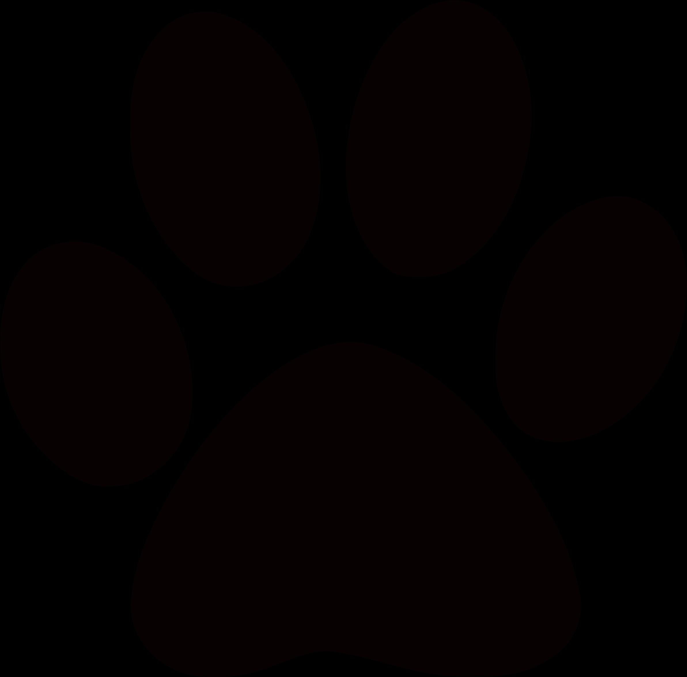 HD Footprints Clipart Cougar.