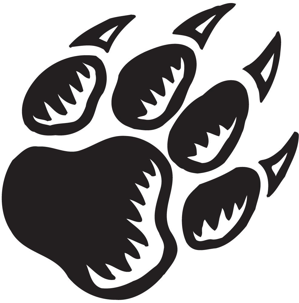 55+ Cougar Paw Clip Art.