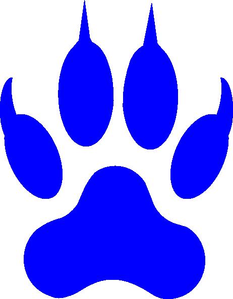 Free Cougar Paw Print, Download Free Clip Art, Free Clip Art.