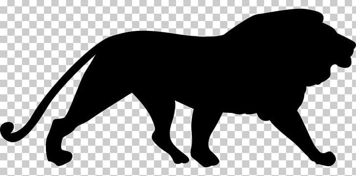 Lion Cougar Silhouette PNG, Clipart, Clip Art, Cougar, Lion.