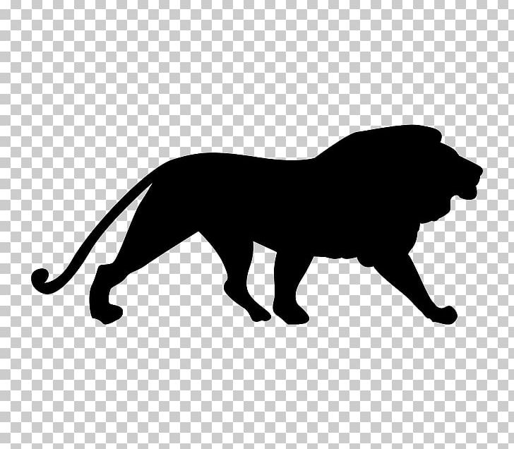 Lion Cougar Silhouette PNG, Clipart, Animals, Art, Big Cats, Black.