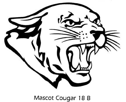 Cougar Logo Clipart.