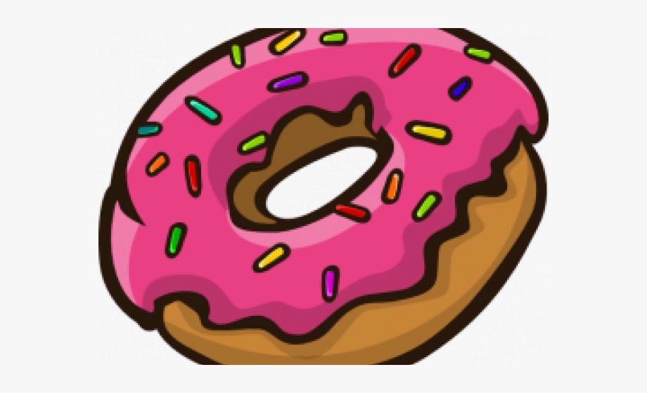 Doughnut Clipart Transparent Background.