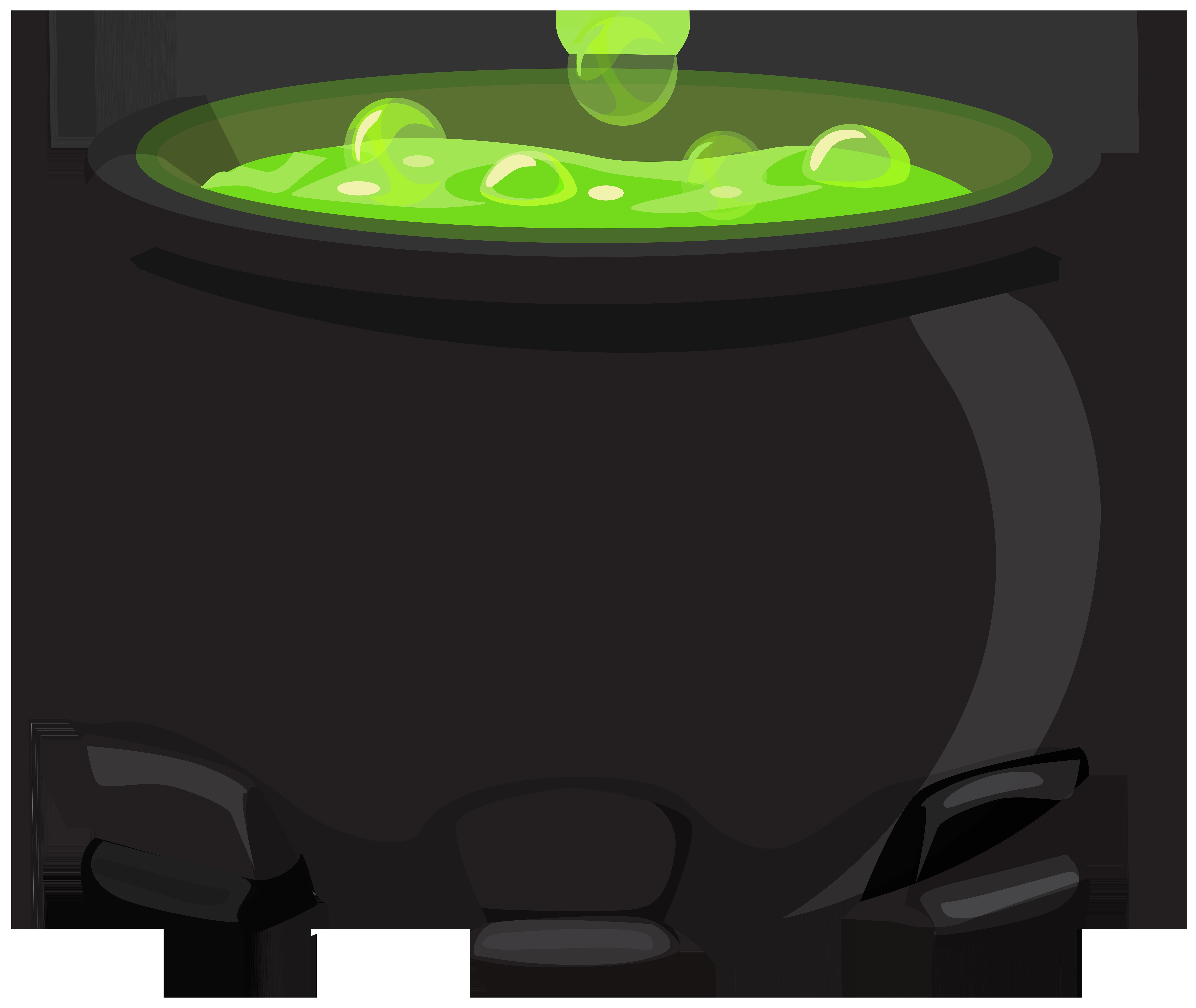 Black Cauldron PNG Clipart.