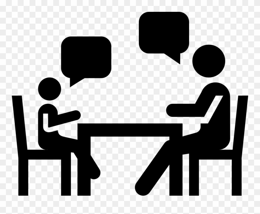 Counseling Clipart Student Meeting.