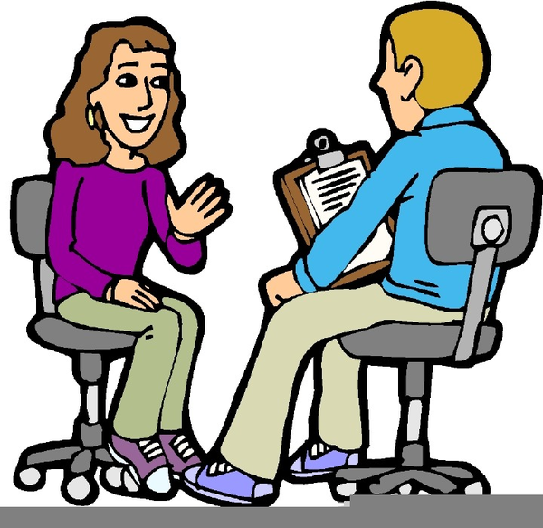 Clipart Counselling Session.