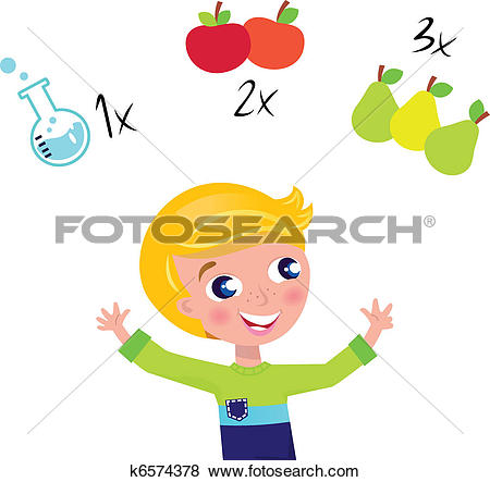Clipart of colorful counting hands k11459361.