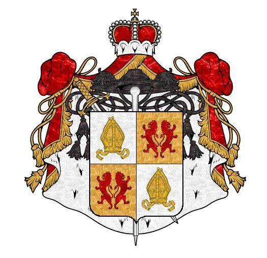 European Heraldry :: Fürstpropstei Ellwangen 1600.