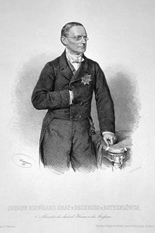 Count Johann Bernhard von Rechberg und Rothenlöwen.