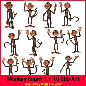 Monkey Counts 1.