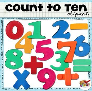 Clip Art: Count to Ten.