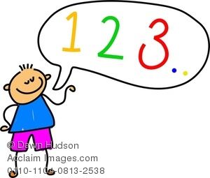 Counting To 10 Clipart.