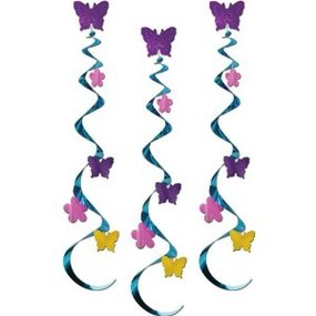 Amazoncom Butterfly & Flower Whirls Party Accessory 1 Count.
