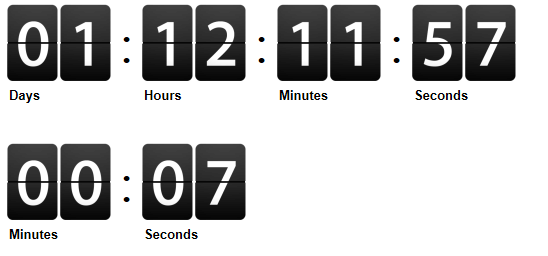 jQuery Countdown Timer Script Example in Asp.net.
