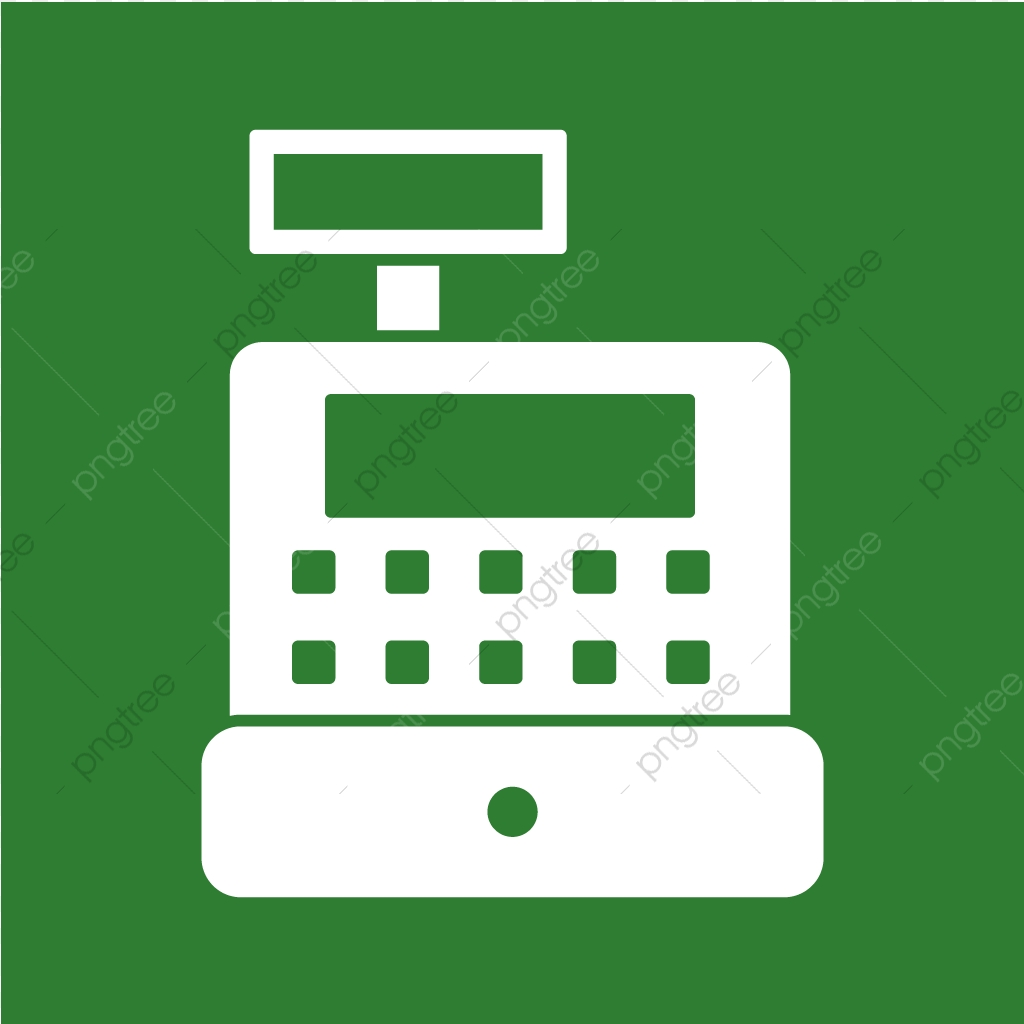Vector Cash Counter Icon, Cash, Counter, Machine Icon PNG.