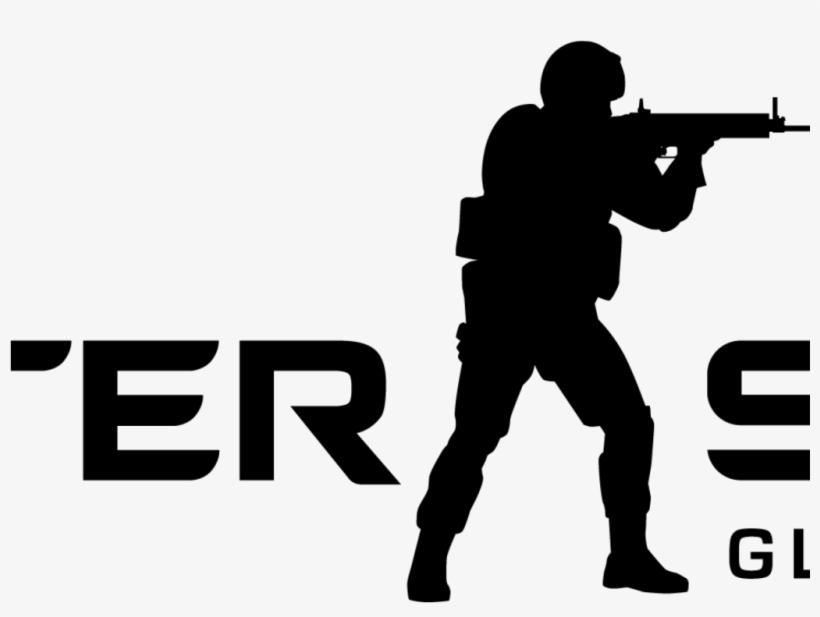Counter Strike Global Offensive Logo Transparent PNG.