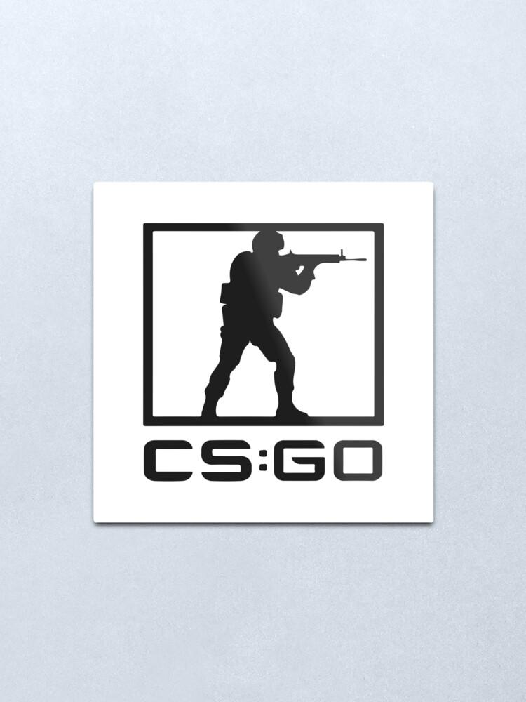 Counter Strike: Global Offensive logo.