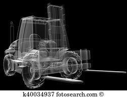 Counterbalanced truck Stock Illustrations. 38 counterbalanced.