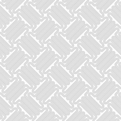 Slim gray countered thick T shapes with offset Clipart Image.