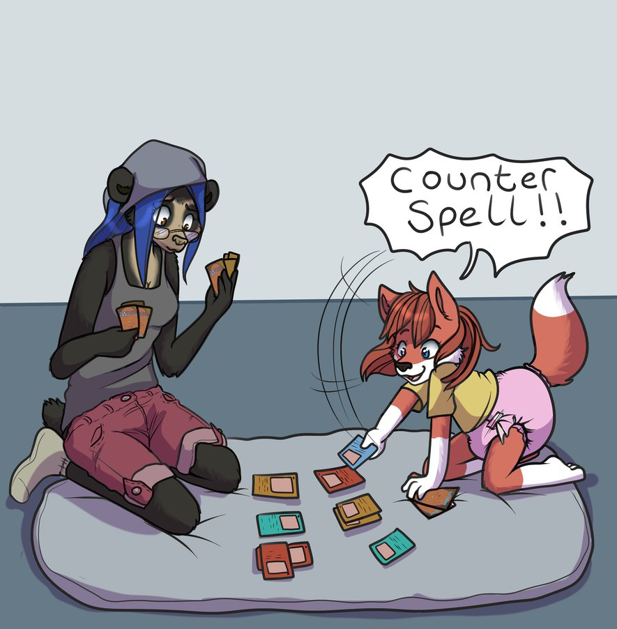 Counterspells are fun by blitz1027 on DeviantArt.