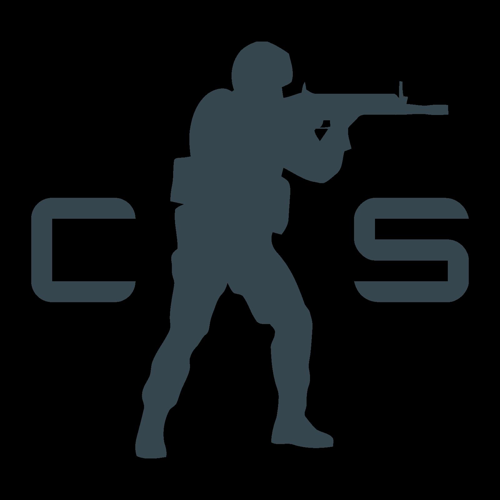 Counter Strike logo PNG.