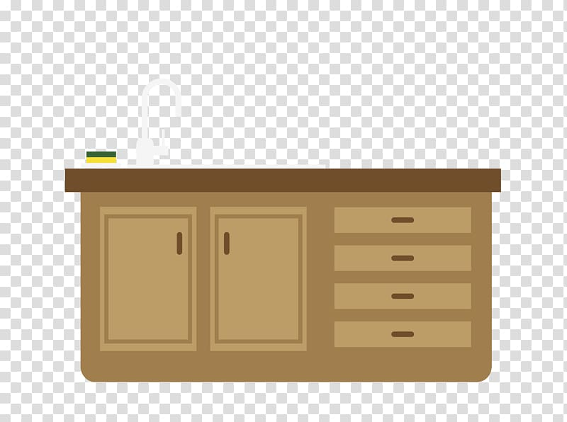 Wood stain Angle Font, gray kitchen countertops transparent.