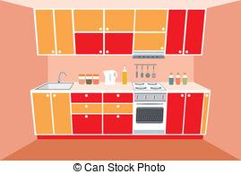 Kitchen Counter Clipart.
