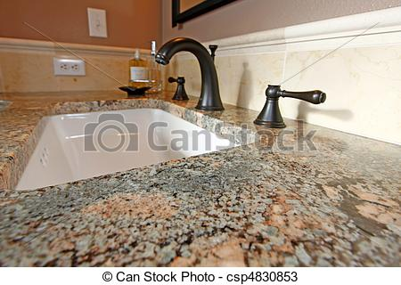 Stock Photos of Bathroom sink.