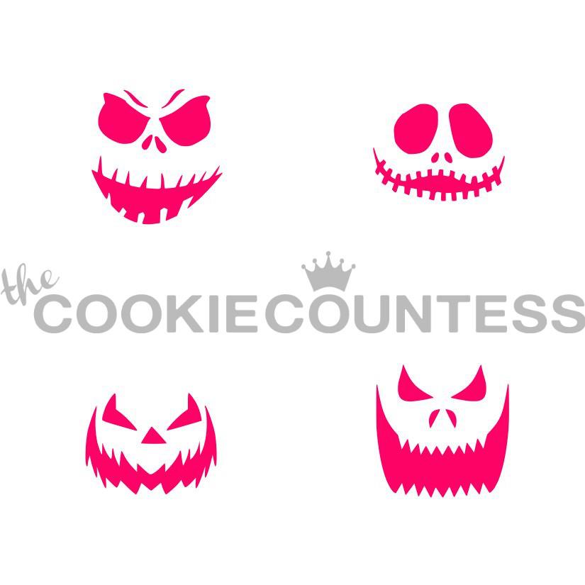 Happy Halloween Stencil.