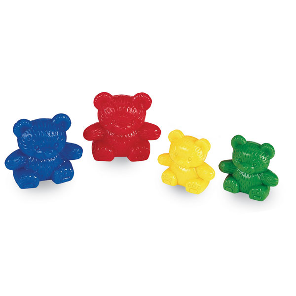 Counting bears clipart.