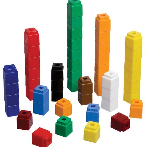 Unifix Cubes Clipart.