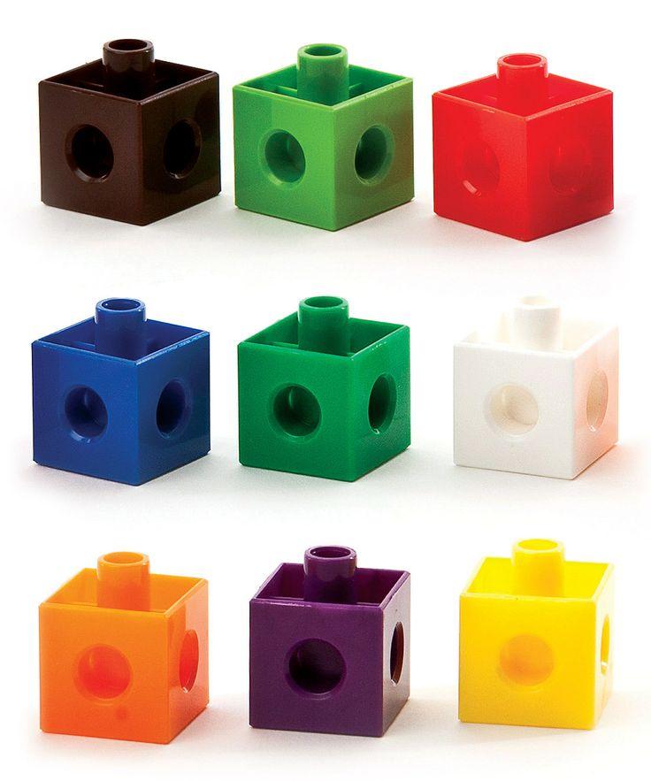 Linker Cubes Clipart.