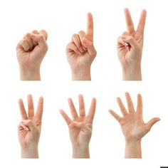 Count 10 Fingers Clipart.