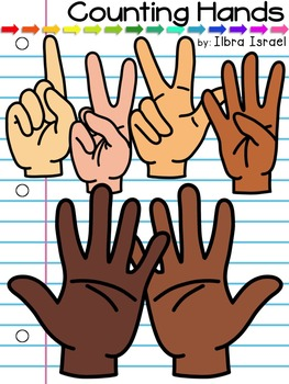 Counting Fingers Clip Art & Worksheets.