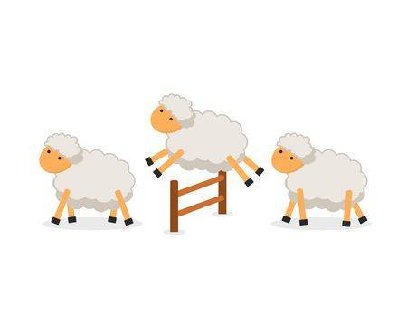 Counting sheep clipart » Clipart Portal.