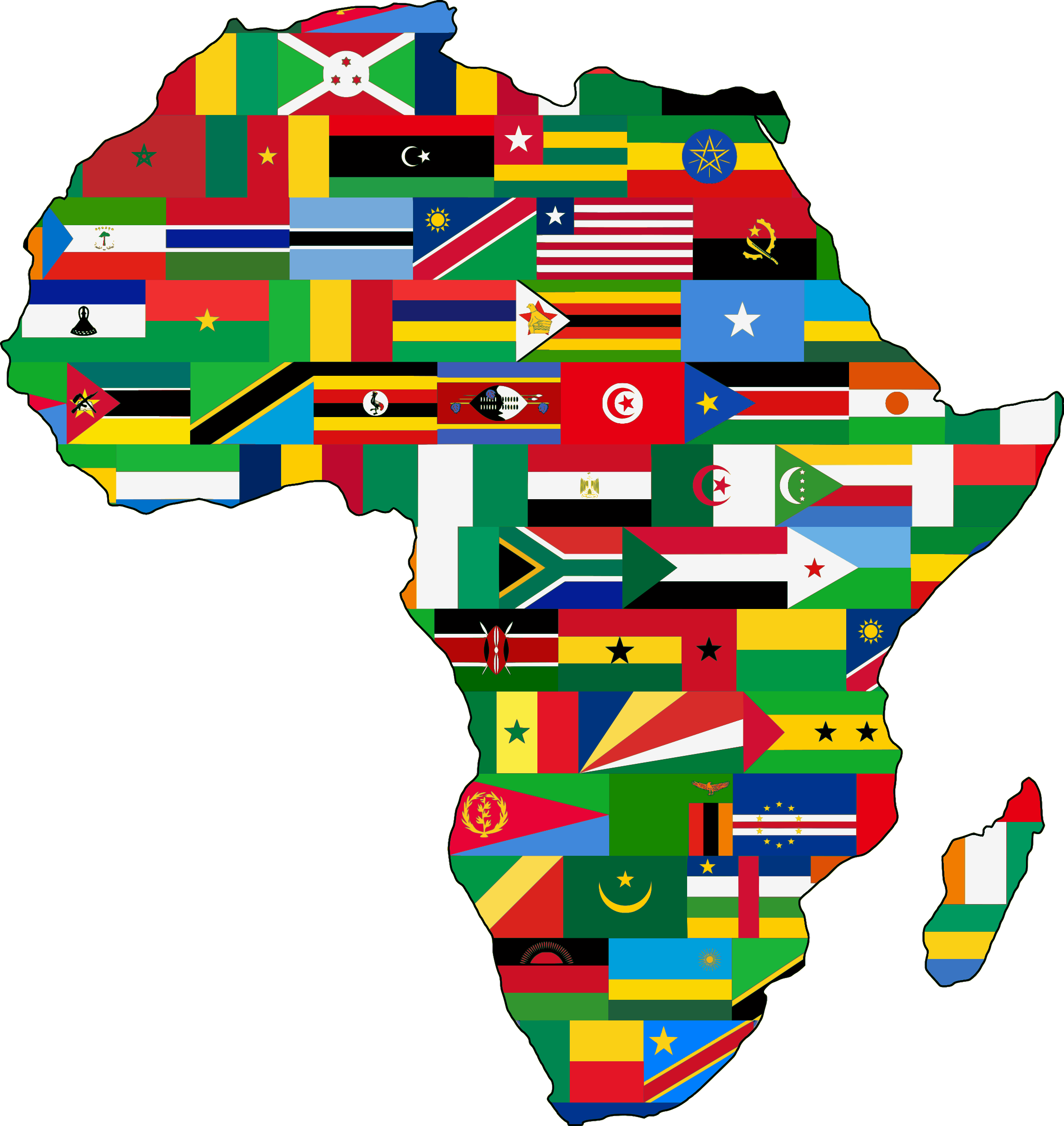 Africa Country Clipart.